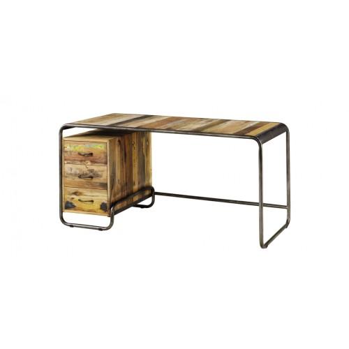 bureau dock bois recycl achetez nos bureaux dock en. Black Bedroom Furniture Sets. Home Design Ideas