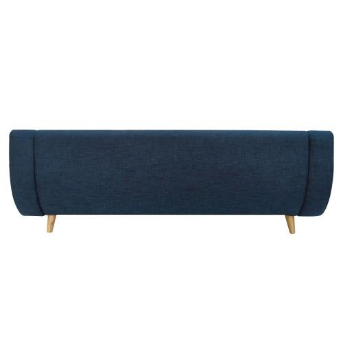 achat canapé confortable bleu design