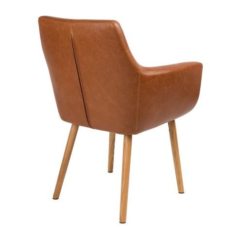 achat chaise cuir pieds bois Résultat Supérieur 5 Inspirant Chaise En Cuir Stock 2017 Kdh6