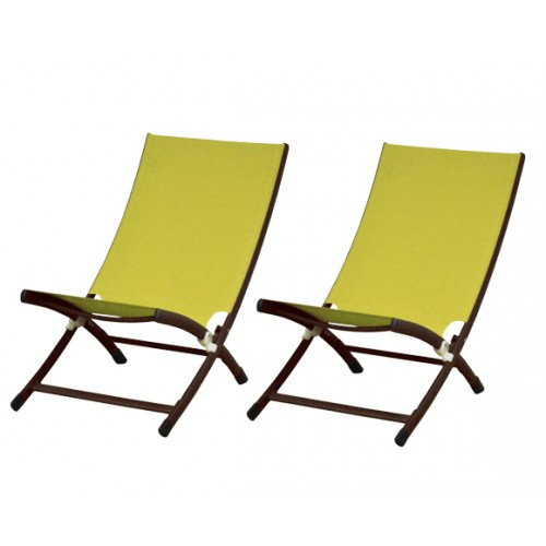 achat chaise de jardin transat lime