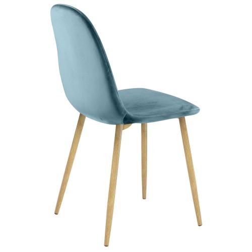 chaise fredrik en velours vert lot de 2 commandez les chaises fredrik en velours vert lot de 2. Black Bedroom Furniture Sets. Home Design Ideas