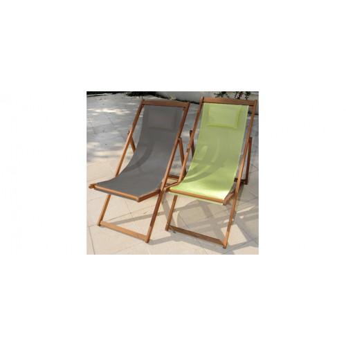 Achat Chaise Longue Verte Pliable