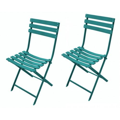 achat chaise pliable bleue