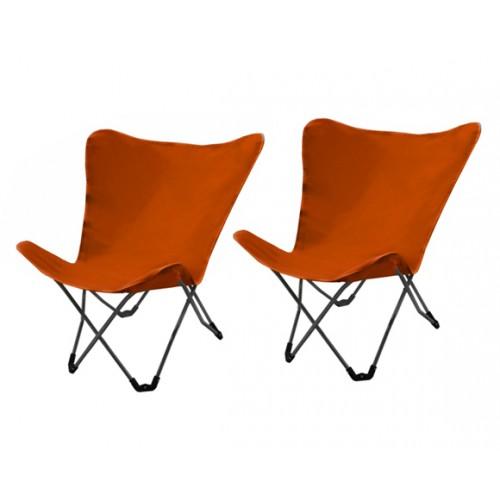 achat chaise pliante orange