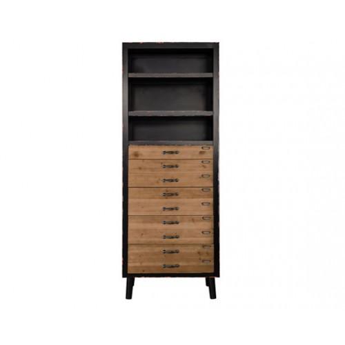 achat etagere industrielle bois metal