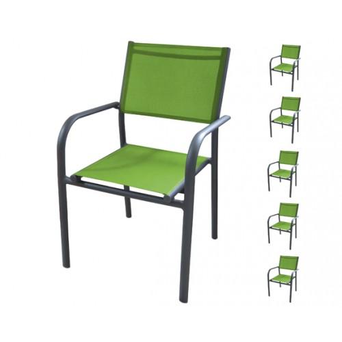 achat fauteuil de jardin vert