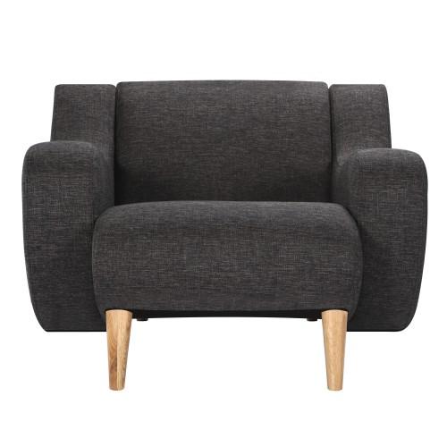 Fauteuil Stockholm Gris Commandez Nos Fauteuils Nordiques Design à - Fauteuil gris design