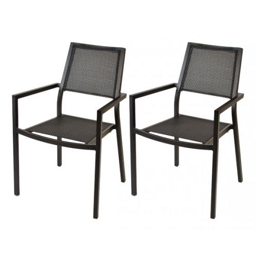 achat fauteuil taupe pour le jardin par 2