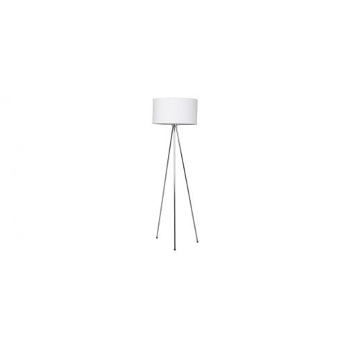 achat lampadaire blanc et metal design pas cher