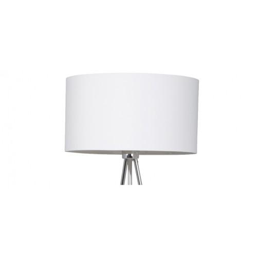 achat lampadaire blanc et metal design