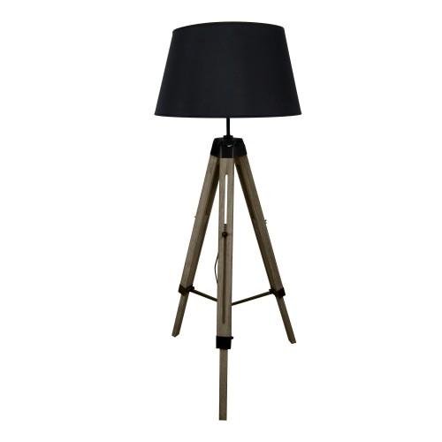 achat lampadaire noir