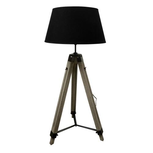 achat lampadaire reglable noir