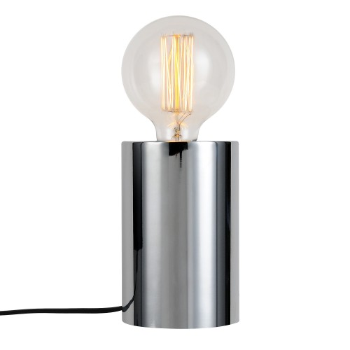 achat lampe a poser metal finition argent