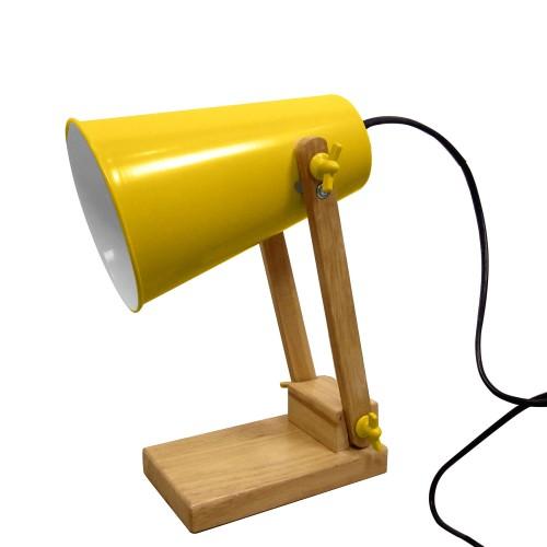 achat lampe de bureau jaune orientable