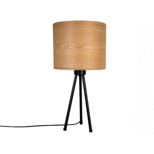 achat lampe de bureau trepied woodland