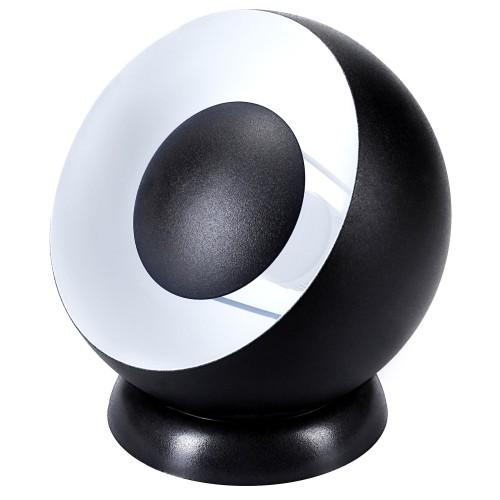 Lampe Louise noire D.20 cm