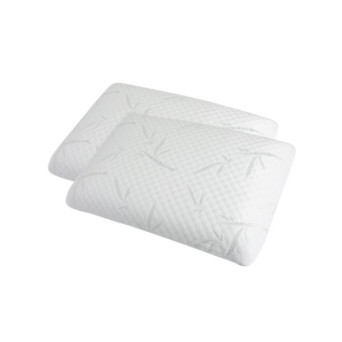 achat oreiller rectangulaire blanc