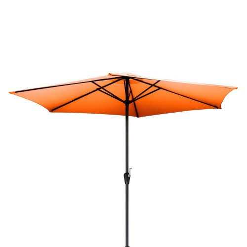 achat parasol design orange