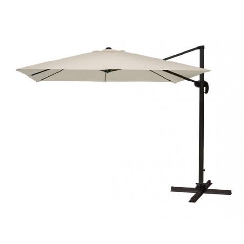 achat parasol ecru