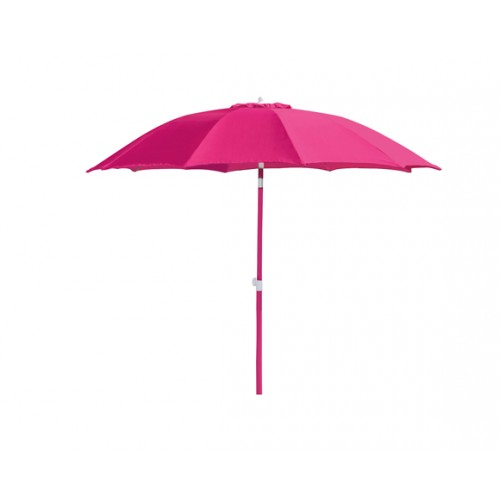 achat parasol rose