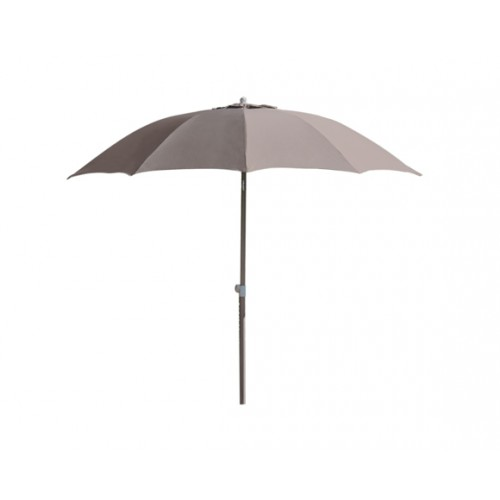 achat parasol taupe