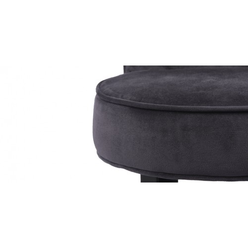 petit fauteuil crapaud gris achetez nos petits fauteuils. Black Bedroom Furniture Sets. Home Design Ideas