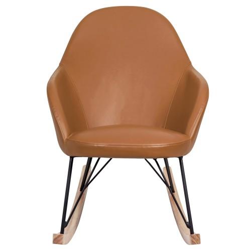 rocking chair malibu cognac commandez nos rocking chair malibu cognac design rdv d co. Black Bedroom Furniture Sets. Home Design Ideas