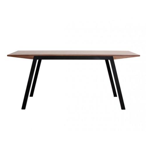 achat table en bois et metal