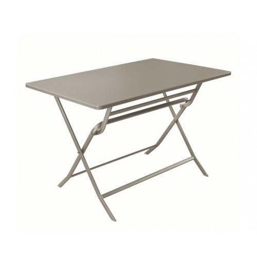 achat table pliante gris clair