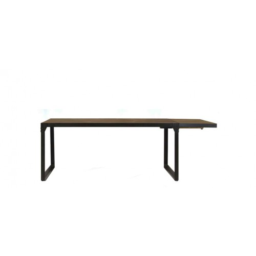 achat table repas rallonge bois vieilli petit prix - Table De Repas Avec Rallonge