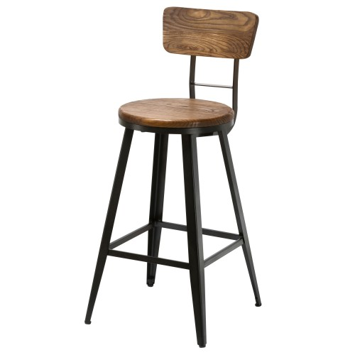 Tabouret de bar marron elegant tabouret de bar vintage cm - Amazon table de bar ...