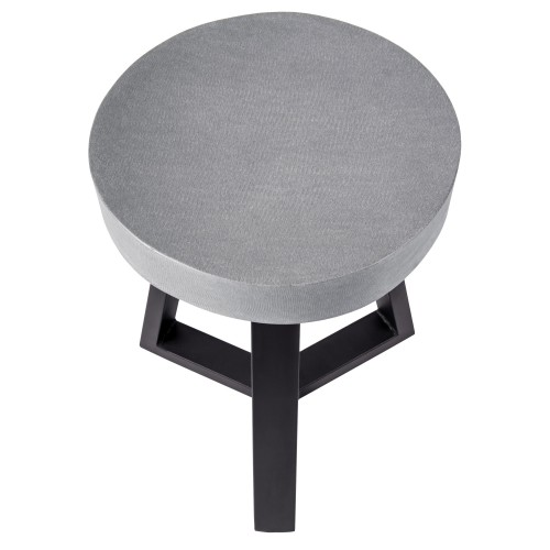 achat tabouret design gris