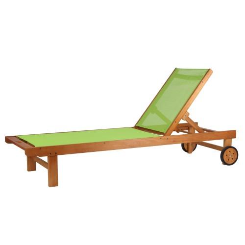 transat vert en bois : achetez nos transats verts en bois d ...