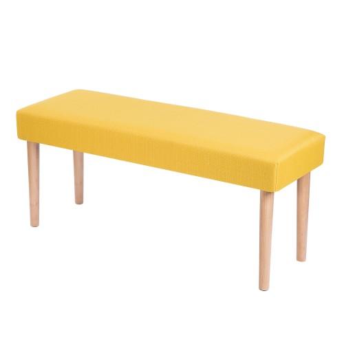 acheter banc octave moutarde
