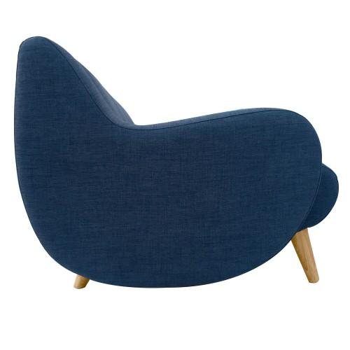 acheter canapé 3 places bleu design