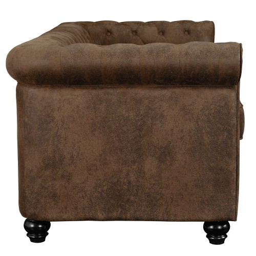 acheter canapé design confortable marron