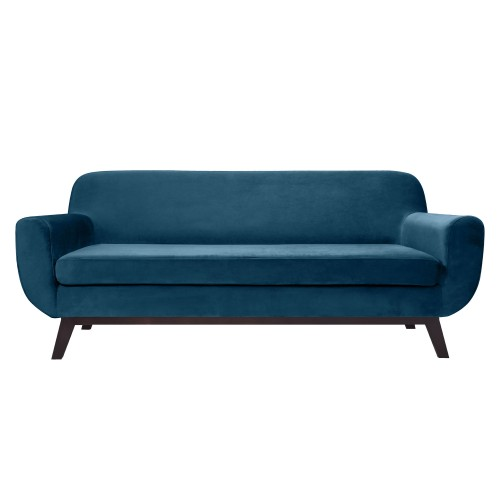acheter canapé design velours bleu