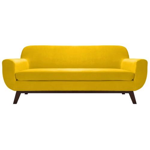acheter canapé jaune velours