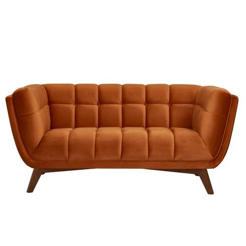 acheter-canape-2-places-orange