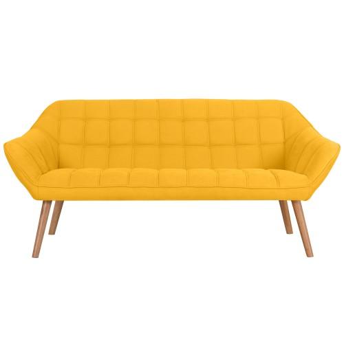 acheter canape 3 places jaune