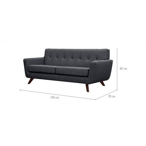 acheter canape confortable gris