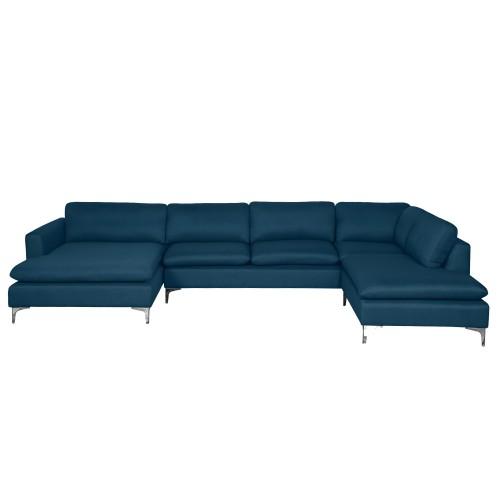 acheter canape d angle bleu
