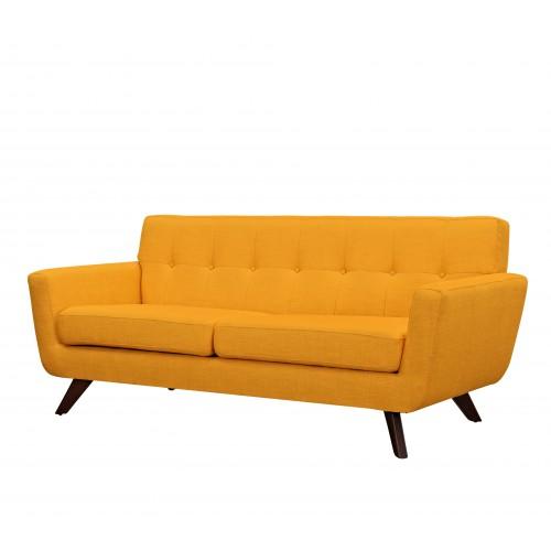 acheter canape design jaune tissu