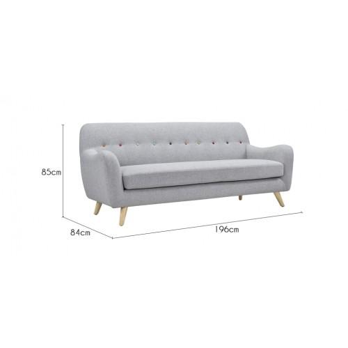 acheter canape gris design petit prix