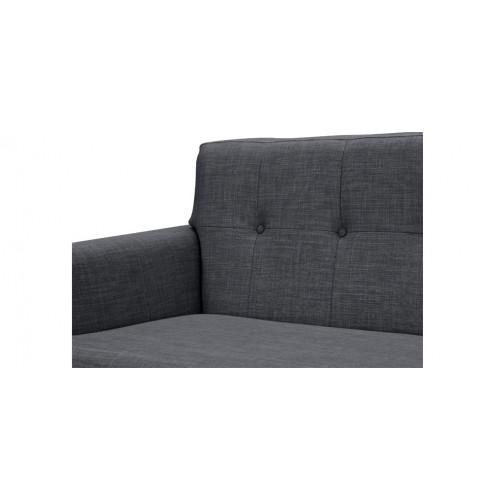 acheter canape gris tissu