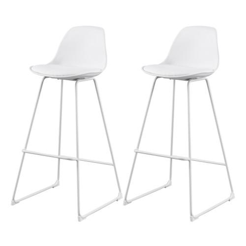 acheter chaise de bar blanche