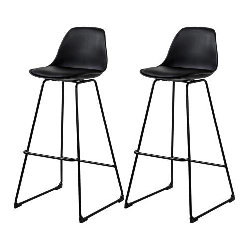 acheter chaise de bar noire design