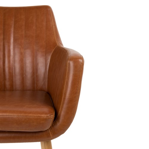 Chaise pike cognac adoptez nos chaises pike cognac for Acheter chaise design