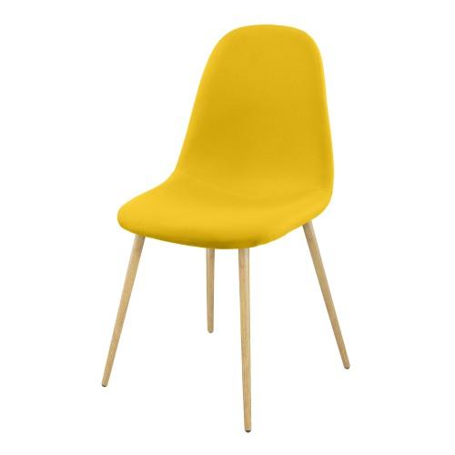 Acheter Chaise Design Jaune Tissu