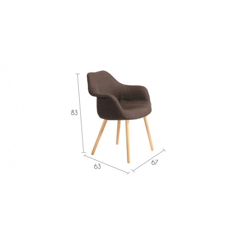 chaise anssen marron installez nos chaises anssen marron